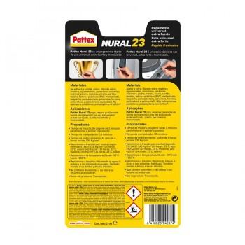 Pegamento Universal Rápido Extra Fuerte 22ml NURAL-23 PATTEX