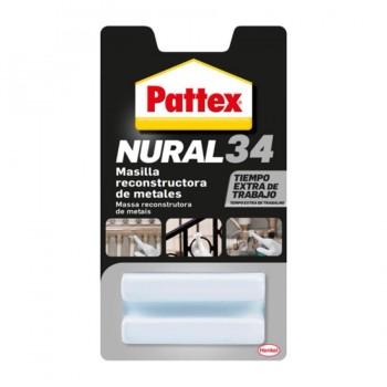 Masilla Reconstructora Metales 50gr NURAL-34 PATTEX