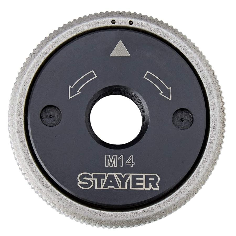 Tuerca Rapida Disco Amoladora Universal M-14 STAYER