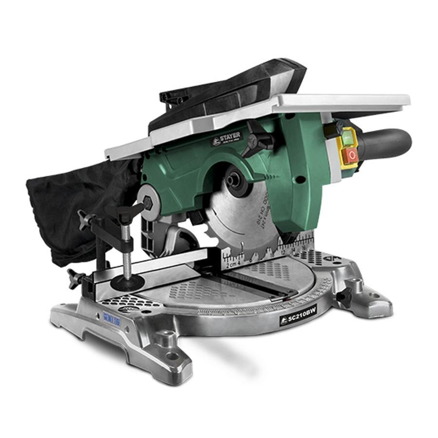 Ingletadora 210mm STAYER SC210BW