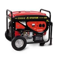 Generador de corriente GAV 5500 E Stayer