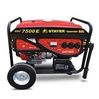 Generador de corriente GAV 7500 E Stayer