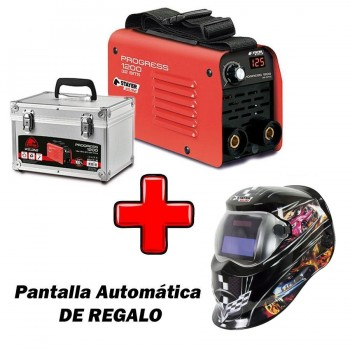 Grupo Soldadura Inverter STAYER PROGRESS 1200 + Pantalla Automática AS-R (antes CITYWORK 125)