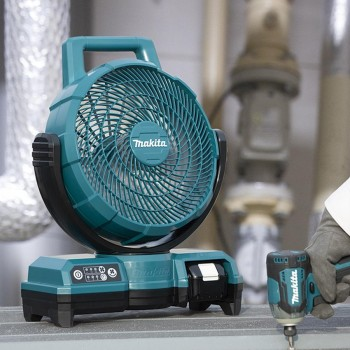 Ventilador 14,4/18V LXT AC/DC con Cabezal Autobasculante DCF203Z MAKITA