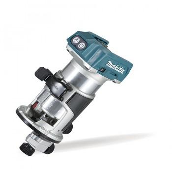 Fresadora Multifunción BL 18V LXT 6 / 8 mm DRT50Z MAKITA