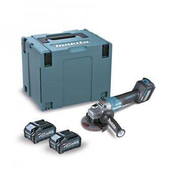 Miniamoladora Angular BL 40Vmáx 4,0 Ah XGT 115mm AWS GA028GM201 MAKITA