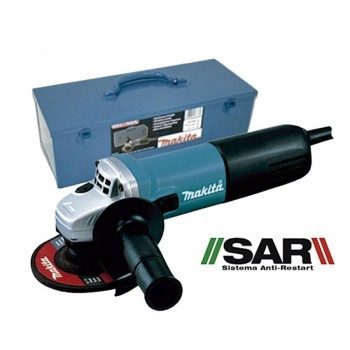 Miniamoladora 840W 125mm Anti-Restart Makita 9558NBRK1
