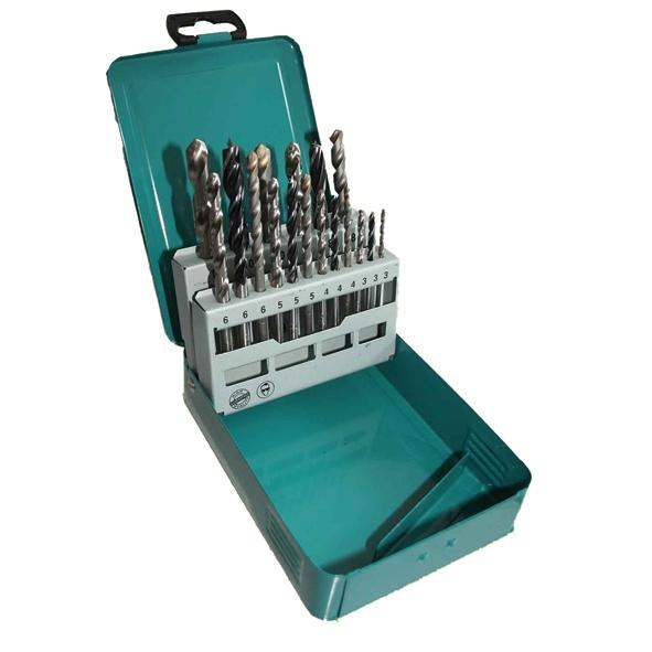 Makita Set 18 Brocas (Madera,Metal,Piedra)