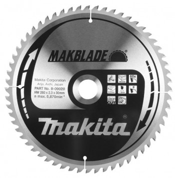 Makita Discos MAKBLADE para Ingletadora corte Madera
