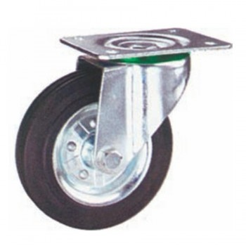 Rueda Giratoria Placa 100mm 100Kg RGH 82/02M25