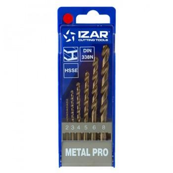Juego Brocas HSSE Metal 1462 IZAR 6 uds.