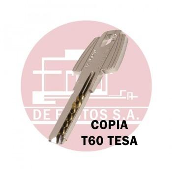 Copia de Llave de Seguridad TESA T60