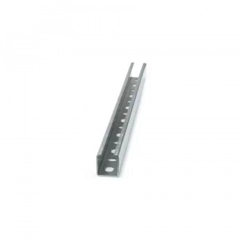 Carril Perforado Galvanizado GP-G INDEX 2 Metros