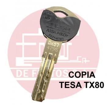Copia de llave de Seguridad TESA TX80