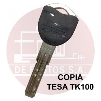 Copia de llave TESA TK100