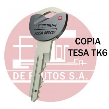 Copia de llave de Seguridad TESA TK6