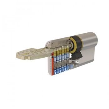 Cilindro de Seguridad T60 Níquel TESA ASSA ABLOY