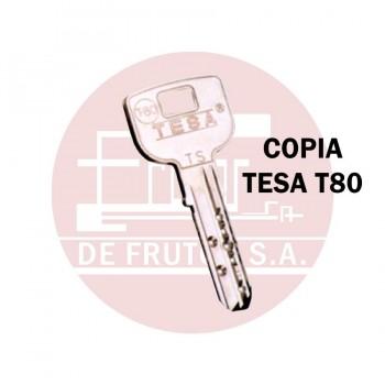 Copia de llave de Seguridad TESA T80
