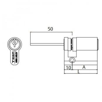 Cilindro Regulable TE5R TESA ASSA ABLOY