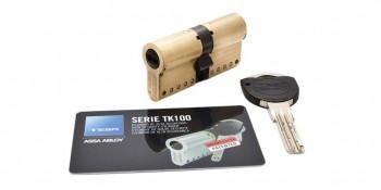 Cilindro Seguridad TK100 Níquel TESA ASSA ABLOY