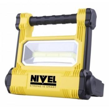 Proyector LED 20W+ Linterna 3W NIVEL