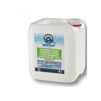 Desinfectante Algicida Antialgas Concentrado para Piscinas 5 Litros