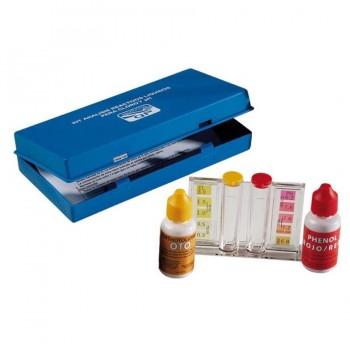 Kit de Análisis Reactivo para PH y Cloro del Agua para Piscinas QUIMICAMP