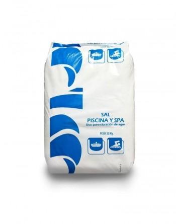 Sal para Piscinas/Spa Saco 25 kg