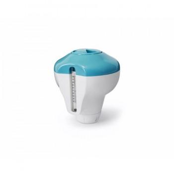 Dosificador Flotante con Termómetro para Piscinas