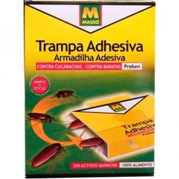 Trampa Adhesiva con Cebo para Cucarachas