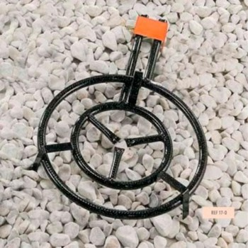 Paellero de Gas Butano 2 Fuegos 50cm LA IDEAL