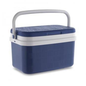Nevera Termo Rígida Polipropileno Azul y Blanco 16 Litros