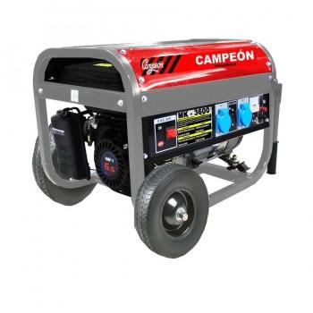 Generador Gasolina 6,5CV 2,8Kva 15Lts MK3600 CAMPEON