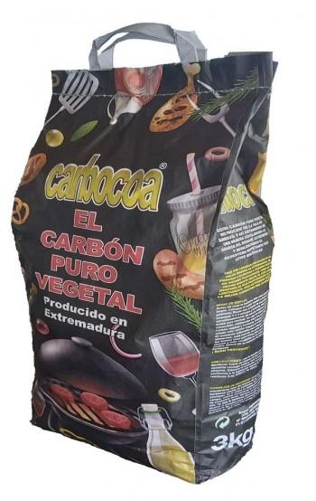 Carbón Vegetal para Barbacoa 3 Kg