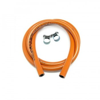 Manguera Conductor Gas Butano/Propano 1,5m + 2 abrazaderas