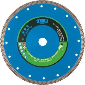 Tyrolit Diamante Disco Corte en Seco Porcelánico 115X1,2X22