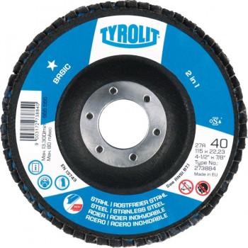Tyrolit Disco Láminas 2in1 Acero / Inox Basic 125X22