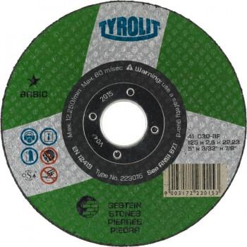 Tyrolit Disco Corte BASIC para Piedra